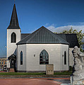 Norwegian Church Cardiff Bay 2 by Steve Purnell