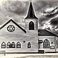 Norwegian Church Cardiff Bay Cream by Steve Purnell