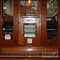 Nostalgic Wurlitzer Player Piano . 7d14400 by Wingsdomain Art and Photography