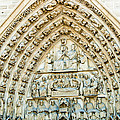 Notre Dame Cathedral Center Entry by Jon Berghoff