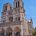 Notre Dame Cathedral Paris France by Jon Berghoff