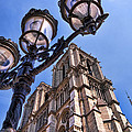 Notre Dame Tower by Jon Berghoff