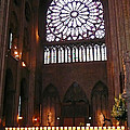 Notre Dame Votive Candles by Bob and Nancy Kendrick