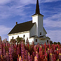 Nova Scotia Church by Dave Mills