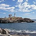 Nubble Light II by Joe Faherty