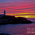 Nubble Lighthouse by Scott Moore