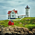 Nubble Lighthouse by Tricia Marchlik