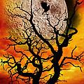 Nuclear Moonrise by Meirion Matthias