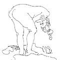 Nude Female Drawings 7 by Gordon Punt