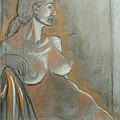Nude Model  by Aveda Allen