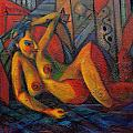 Nude No 1 by Marina R Burch