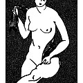 Nude Sketch 12 by Leonid Petrushin
