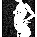 Nude Sketch 24 by Leonid Petrushin