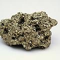 Nugget Of Fool's Gold, Iron Pyrites by Kaj R. Svensson