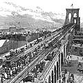 Ny: Brooklyn Bridge, 1883 by Granger