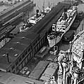 Ny Docks View by Underwood Archives