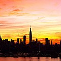 Ny Saturday Sunrise by Regina Geoghan
