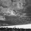 Ny Skyline Approaching Storm by Regina Geoghan