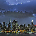 Nyc All Charged Up by Susan Candelario