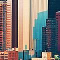 Nyc Colors And Lines II by Regina Geoghan