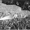 Nyc: Democrat Parade, 1876 by Granger