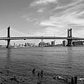 Nyc Manhattan Bridge by Mike McGlothlen