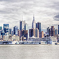 Nyc Skyline 2 by Rob Narwid