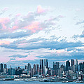 Nyc Sundown Blue II by Regina Geoghan