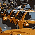 Nyc Traffic Color 6 by Scott Kelley