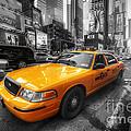 Nyc Yellow Cab by Yhun Suarez