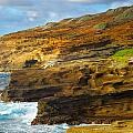 Oahu Coastline by Kenneth Sponsler
