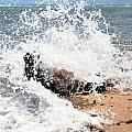 Oahu North Shore Splash by John Bowers