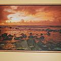 Oak Floater Frame by Michael Peychich