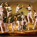 Oakland A's High Five by Blake Richards