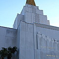 Oakland California Temple . The Church Of Jesus Christ Of Latter-day Saints . 7d11364 by Wingsdomain Art and Photography