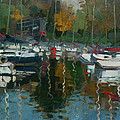 Oakville Harbour On by Ylli Haruni