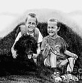 Obrien Brothers And Their Dog by Carliss Mora