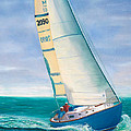 'obsession' Racing On The Atlantic by Pamela Ramey Tatum