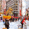 Occupy Sf Market Street . 7d9733 by Wingsdomain Art and Photography