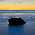 Ocean Boulder by John Greim