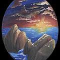 Ocean Circle by Diane Peters