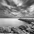 Oceanside Harbor Jetty 2 by Larry Marshall
