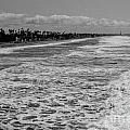Oceanside In Black And White by Daniel  Knighton
