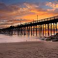 Oceanside Sunset 7 by Larry Marshall