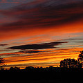October's Colorful Sunrise by Joyce Dickens