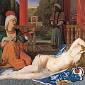 Odalisque With Slave by Jean-August-Dominique Ingres