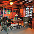 Office At Gillette Castle by Dave Mills