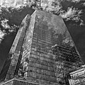 Office Buildings And Clouds White Plains Ny 3 by Robert Ullmann