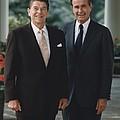Official Portrait Of President Reagan by Everett