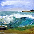 Ogunquit Beach Wave by Scott Nelson